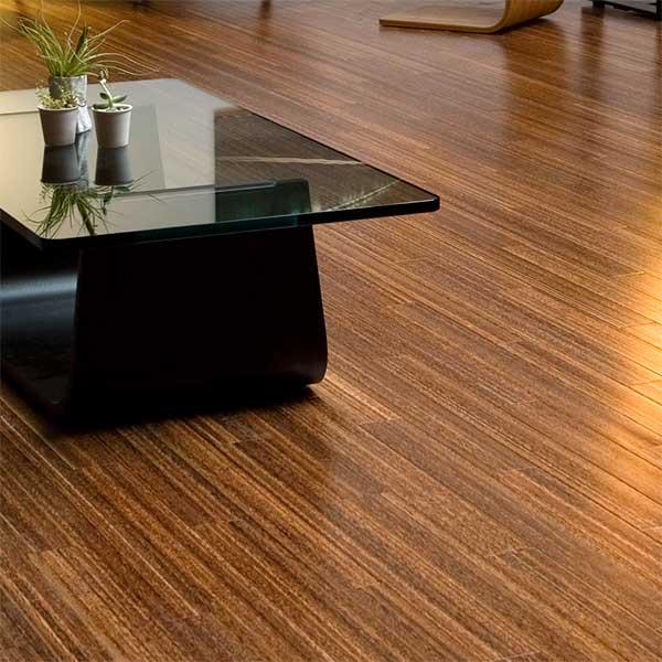 palmwood flooring detail