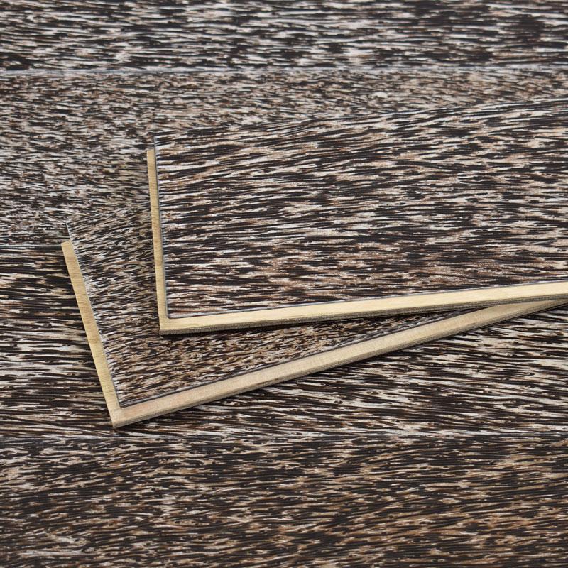 palmwood flooring detail - brushed tusk