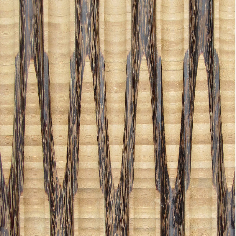 palm paneling texture - c4