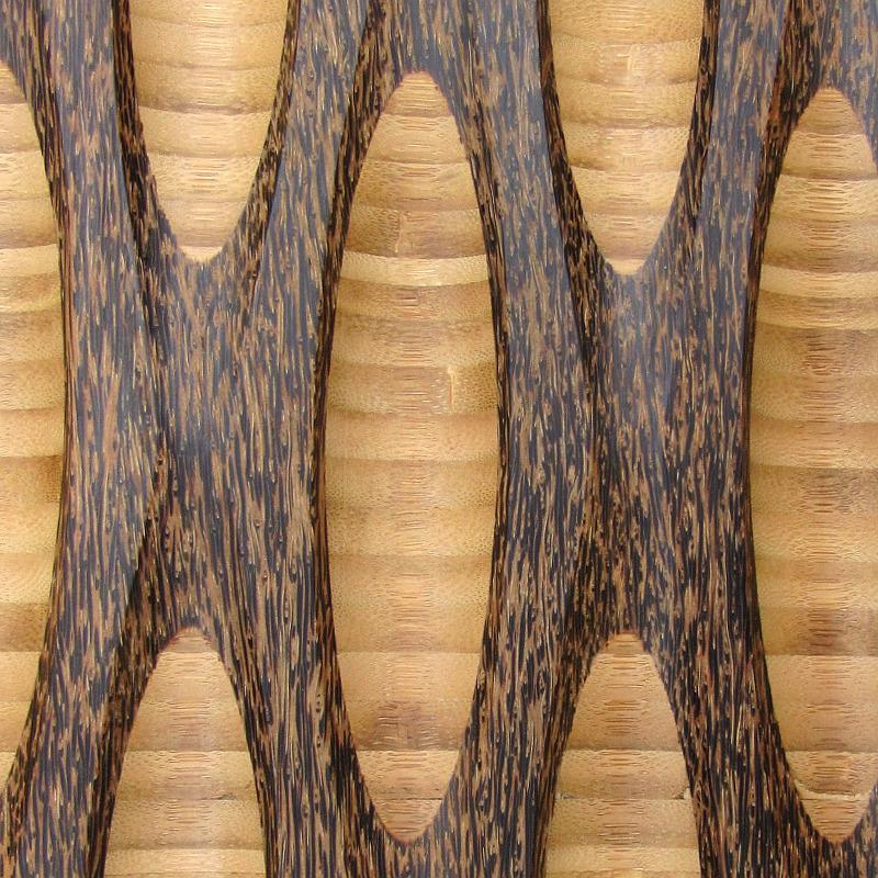palm paneling texture - c5 detail